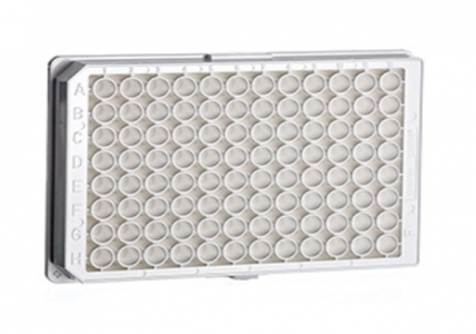 Greiner Bio-one Microplate 96 Well, PS, F-Bottom (Chimney Well), White, Lumitrac, High Binding, Sterile, 10pcs/bag, 40pcs/case