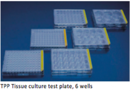 TPP Tissue culture test plate, 6 wells (Multi-Pack)