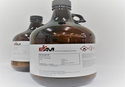 EAM ACETONITRILE HPLC GRADE 2.5L AMBER GLASS