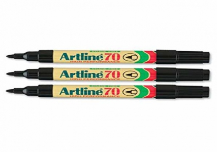 Artline Permanent Marker 70 1.5mm - Black