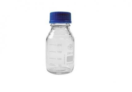 Nice Glass Laboratory Bottles With Pouring Ring 100ml, Unit