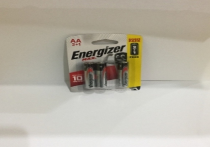 AA battery 3pcs/pack