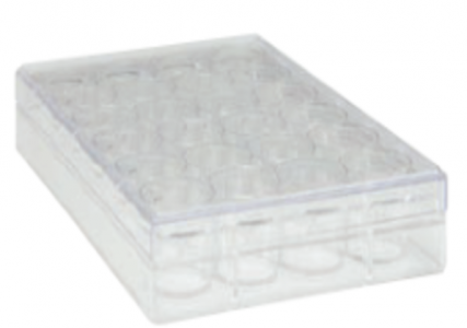 TRUELINE 24 WELL CLEAR, TISSUE CULTURE-TREATED MULTIPLE WELL PLATES, STERILE, 50/CASE
