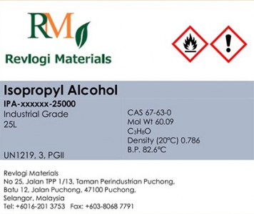 EAM ISOPROPYL ALCOHOL INDUSTRIAL GRADE 25L