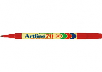 Artline Permanent Marker 70 1.5mm - Red