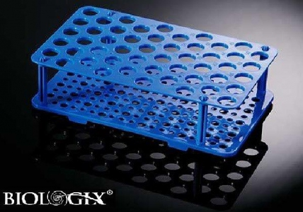 Biologix 50 Well PP Test Tubes Racks for 15ml, Rack