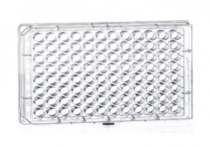 Greiner Bio-one Microplate 96 Well, PS, F-Bottom (Chimney Well), Clear, Microlon, High Binding, 10pcs/bag, 40pcs/case