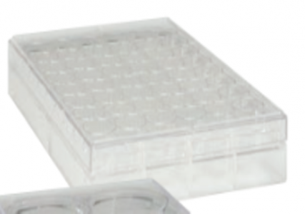 TRUELINE 96 WELL CLEAR, TISSUE CULTURE-TREATED MULTIPLE WELL PLATES, STERILE, 50/CASE