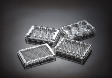 Biomedia Cell culture plates, Treated, 24-well, per case