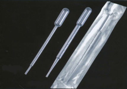 Gong Dong 3ml Transfer pipette, Paper Plastic Individual Wrapped